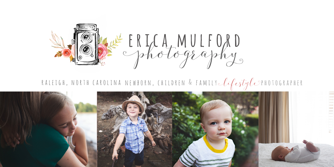 Erica Mulford Photography - Raleigh, North Carolina Children's Photographer